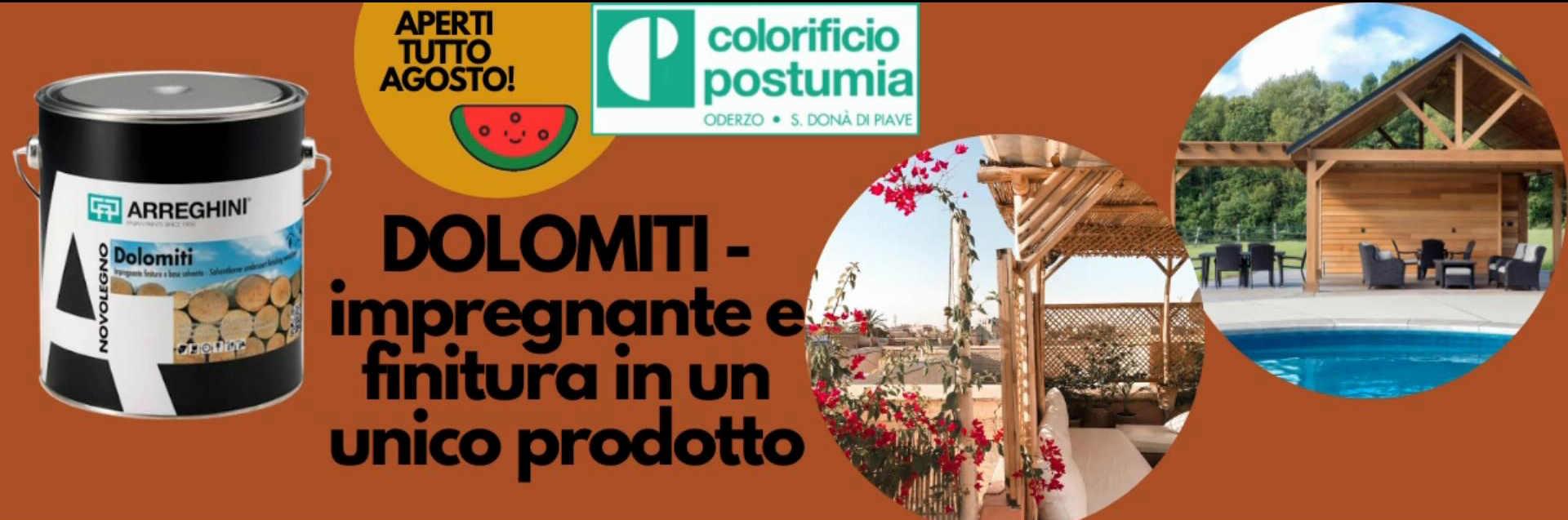Colorificio Postumia - Dolomiti Impregnante e finitura in un unico prodotto